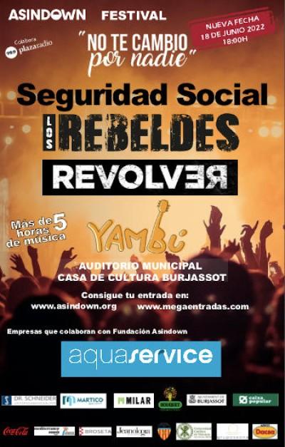 SEGURIDAD SOCIAL, REBELDES, REVOLVER Y YAMBU