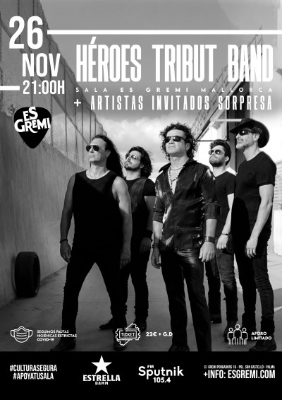 HEROES TRIBUT BAND