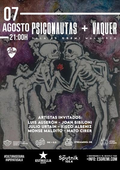 PSICONAUTAS + VAQUER
