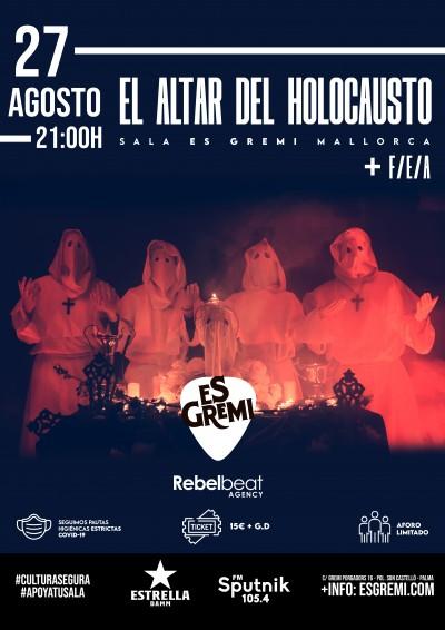 EL ALTAR DEL HOLOCAUSTO + F/E/A