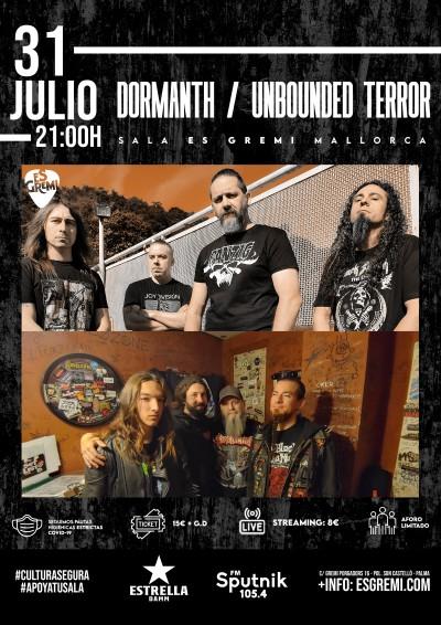 DORMANTH / UNBOUNDED TERROR