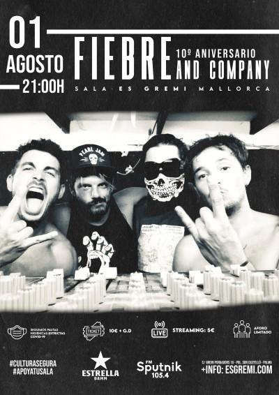 FIEBRE and company 10º ANIVERSARIO