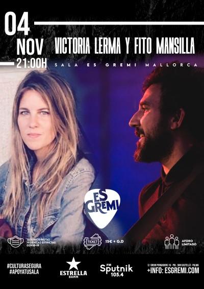 VICTORIA LERMA Y FITO MANSILLA