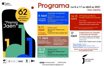 CONCIERTO INAUGURAL DE IVO POGORELICH. 62 CONCURSO INTERNACIONAL DE PIANO.