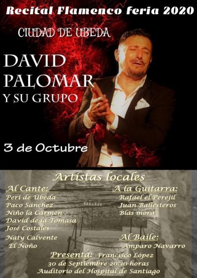 RECITAL DE FLAMENCO DAVID PALOMAR Y SU GRUPO
