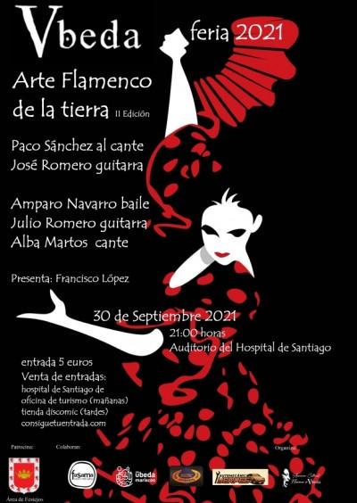 ARTE FLAMENCO DE LA TIERRA. II EDICION. FERIA 2021