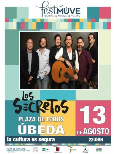 LOS SECRETOS. FESTIVAL DE MUSICA DE VERANO UBEDA, 2021.