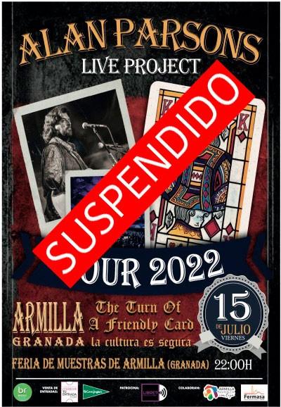 ALAN PARSONS LIVE PROJET TOUR 2021. GRANADA