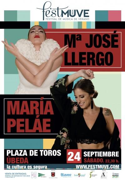 MARIA JOSE LLERGO. MARIA PELÁE. FESTMUVE 2021. II CULTURA Y TURISMO EN FAMILIA.