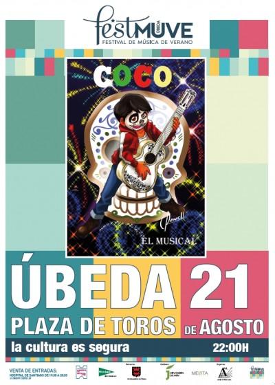 COCO EL MUSICAL. FESTMUVE 2021. II CULTURA Y TURISMO EN FAMILIA.