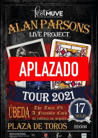 ALAN PARSONS LIVE PROJET TOUR 2021. FESTMUVE UBEDA.