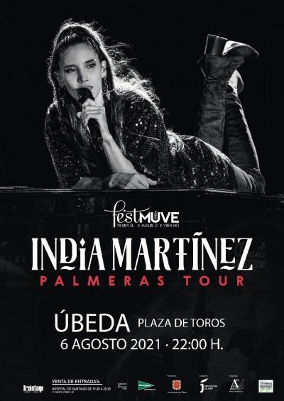 INDIA MARTINEZ. PALMERAS TOUR. FESTIVAL DE MUSICA DE VERANO.