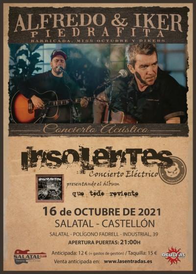Insolentes + Alfredo & Iker Piedrafita