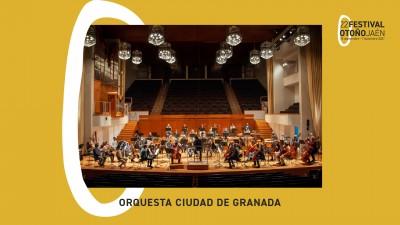 """CONCIERTO DE CLAUSURA. 22 FESTIVAL DE OTOÑO DE JAEN. ORQUESTA CIUDAD DE GRANADA """"EL ARTE DE CONTAR HISTORIAS"""""""