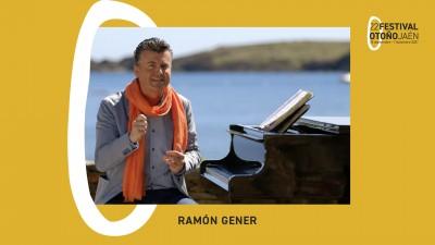"""""""LA EMOCION O EL PORQUE DE LA MÚSICA"""". CONCIERTO RAMON GENER. 22 FESTIVAL DE OTOÑO DE JAEN."""