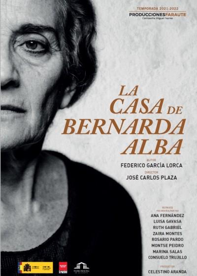 LA CASA DE BERNARDA ALBA. 22 FESTIVAL DE OTOÑO DE JAEN.